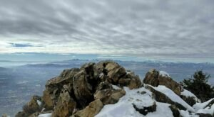 A Winter Hike To The Top Of Utah's Mount Olympus Is A Frosty Adventure