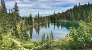 A Trail Full Of Mountain Views In The Jewel Basin Will Lead You To A Beautiful Lake In Montana