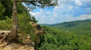 Explore 2,500 Acres Of Unparalleled Views Of Mountains On The Scenic Yellow Rock Trail In Arkansas
