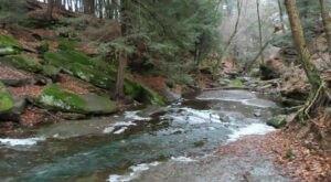 Escape To Dundee Falls For A Beautiful Ohio Nature Scene