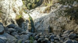 You'll Want To Spend All Day At Switzer Falls, A Waterfall-Fed Pool In Southern California