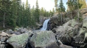 The Alberta Falls Trail In Colorado Is A 1.6-Mile Out-And-Back Hike With A Waterfall Finish