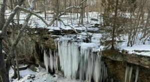 6 Winter Hikes In Ohio That Lead To Stunning Frozen Waterfalls