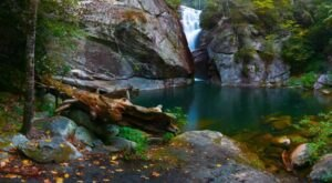 This Difficult Half-Mile Hike Leads To A Beautiful Peek-A-Boo Waterfall In North Carolina