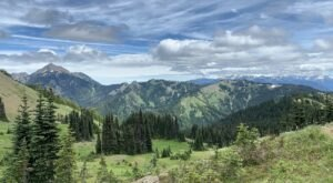 Explore Miles Of Unparalleled Views Of The Bailey Range On The Scenic Hurricane Hill Hike In Washington