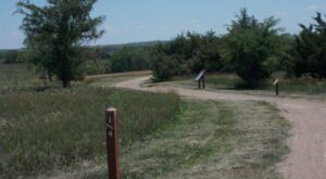 Spot Prairie Dogs Peeking Above Ground On The Prairie Dog Nature Trail In Kansas