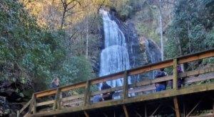 Escape To Mingo Falls For A Beautiful North Carolina Nature Scene