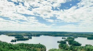 Explore 41,000 Acres Of Unparalleled Views Of Lake Martin On The Smith Mountain Fire Tower Trail In Alabama