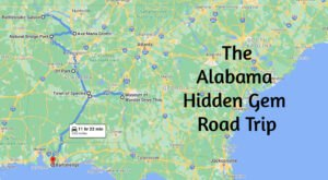 The Ultimate Alabama Hidden Gem Road Trip Will Take You To 8 Incredible Little-Known Spots In The State