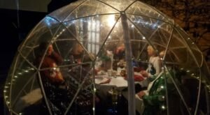 Make A Reservation To Dine In An Igloo At The Ivy Restaurant In Illinois