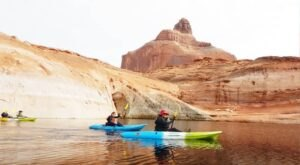 Take A Unique Lake Powell Kayak Tour Through The Hidden Canyons Of Arizona