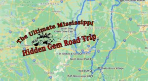 The Ultimate Mississippi Hidden Gem Road Trip Will Take You To 9 Incredible Little-Known Spots In The State
