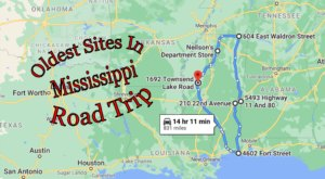 Follow This Route To The Oldest Sites In Mississippi For A Peek Into The Past