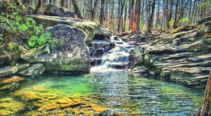 Escape To Moss Rock Preserve For A Beautiful Alabama Nature Scene