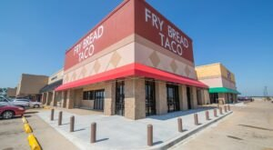 For Authentic Delicious Fry Bread Tacos, Head To Firelake Fry Bread Taco In Oklahoma