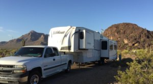 Spend The Night In A Mountainous Desert Oasis At Picacho Peak State Park Campground In Arizona