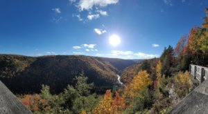 A Dazzling View Awaits At This Little-Known Overlook Near West Virginia's Blackwater Falls