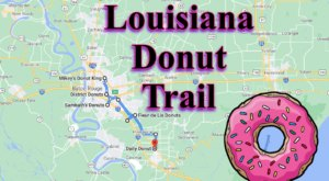 Take The Louisiana Donut Trail For A Delightfully Delicious Day Trip