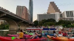 Take A Unique Skyline Kayak Tour Through The Capital City Of Texas