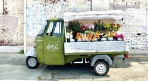 Build Your Own Bouquet From This Lovely Little Flower Truck In Kentucky