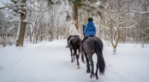 Take A Winter Trail Ride Through Utah's Pioneer History At This Is The Place Heritage Park