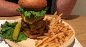 The Massive Burgers At Samuelson's Creek Pub And Grill In Wisconsin Are Sure To Satisfy Even The Biggest Of Appetites