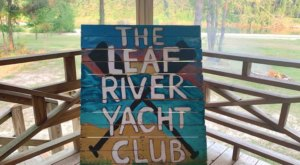 With A 1-Mile Sandbar, The Leaf River Yacht Club In Mississippi Is The Perfect Place To Escape The Summer Heat