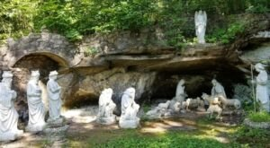 Missouri's Rock Garden And Grotto, Black Madonna Shrine And Grottos Is A Work Of Art