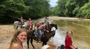 Visit A Creekside Beach By Horseback At Brushy Creek Ranch In Mississippi