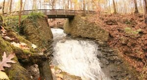 The Buttermilk Falls Trail Near Cleveland Is A 0.8-Mile Out-And-Back Hike With A Waterfall Finish