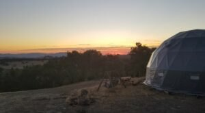 Northern California's Glampground Getaway, Murphys Glamping Is Truly One-Of-A-Kind