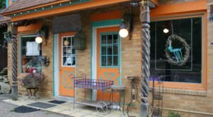 Feast On Some Of The Most Creative Food In Ohio At Purple Chopstix, A Whimsical Eatery