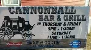 Satisfy Your Dinner And Dessert Cravings At Cannonball Bar & Grill In Kansas
