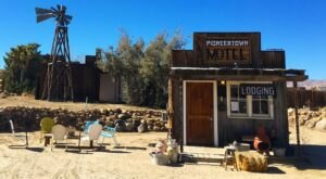 Staying At Pioneer Motel In Southern California Will Leave You Feeling Like You're In An Old Western Movie