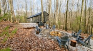 Hide Away On On A Private 5 Acres Of Land In Red River Gorge At This Beautiful Cabin Rental In Kentucky