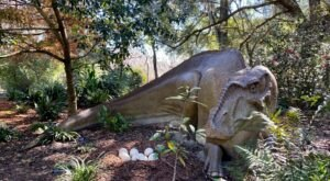 Harry P. Leu Gardens In Florida Is Hosting The Ultimate Dinosaur Invasion This Spring