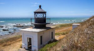 Seek Out A Hidden Lighthouse On The Northern California Coast With This Remote Beach Trail