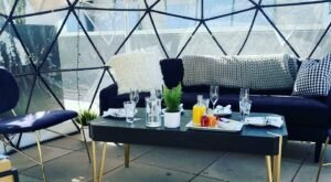 Start Your Sunday With Brunch In An Igloo On A Rooftop At This Restaurant In Northern California