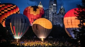 Hot Air Balloons Will Be Soaring At The South Georgia Balloon Festival