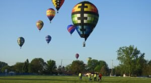Hot Air Balloons Will Be Soaring At Michigan's 15th Annual Balloons Over Bavarian Inn Event