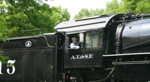 The Abilene & Smoky Valley Railroad Offers Some Of The Most Breathtaking Views In Kansas