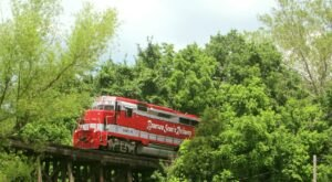 The Branson Scenic Railway Offers Some Of The Most Breathtaking Views In Missouri