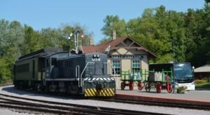 The Mid-Continent Railway Train Excursion Offers Some Of The Most Breathtaking Views In Wisconsin