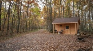 Maryland's Glampground Getaway, Wild Yough Glamping Huts, Is Truly One-Of-A-Kind
