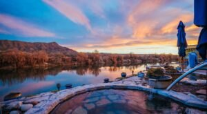These 5 Open-Air Hot Springs In New Mexico Are Your Golden Ticket To Relaxation
