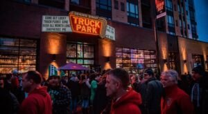 Minnesota's Quirky Indoor Food Truck Attraction, Seventh Street Truck Park, Is Full Of Great Food
