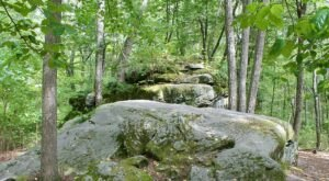 Walk Through Acres Of Rock Formations At Pennsylvania's Bear Town Rocks