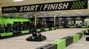 Get Your Adrenaline Pumping At Pennsylvania's Coolest Go-Kart Track, Speed Raceway & Axe Throwing