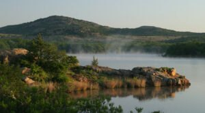 The Hike To Oklahoma's Pretty Little Quanah Parker Lake Is Short And Sweet
