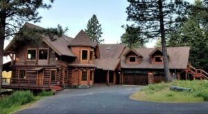 You'll Never Forget A Stay At This Log Cabin Castle Tucked Away In The Idaho Forest